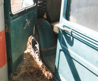 Suicide Door Willys Wagon