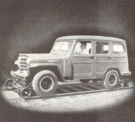 4-dr Willys Wagon Hi-rail